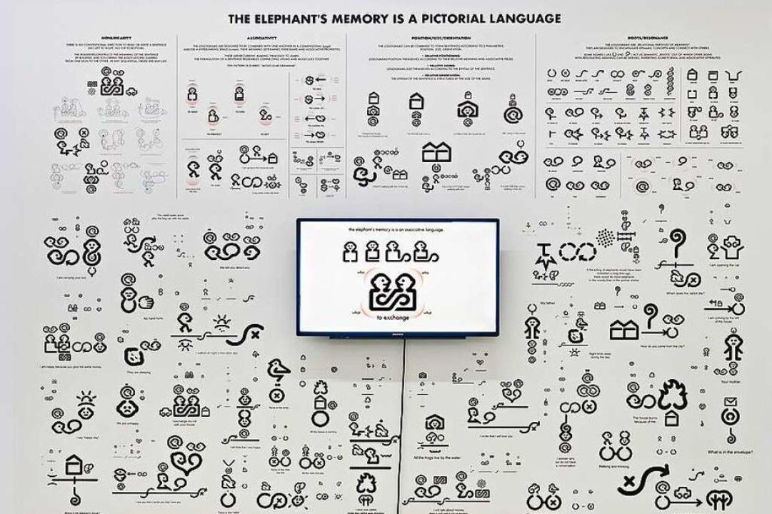 Timothée Ingen-Housz, Elephant's Memory: A Pictorial Language, 1993/2020  | Foto: Foto: Bernhard Strauss