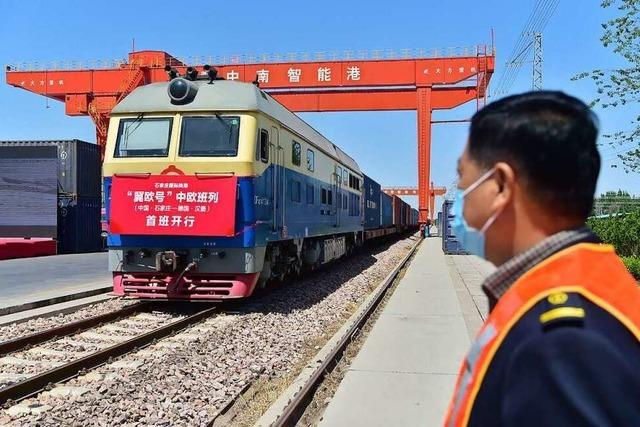 Bahnfrachtverkehr zwischen Europa und China hat stark zugenommen