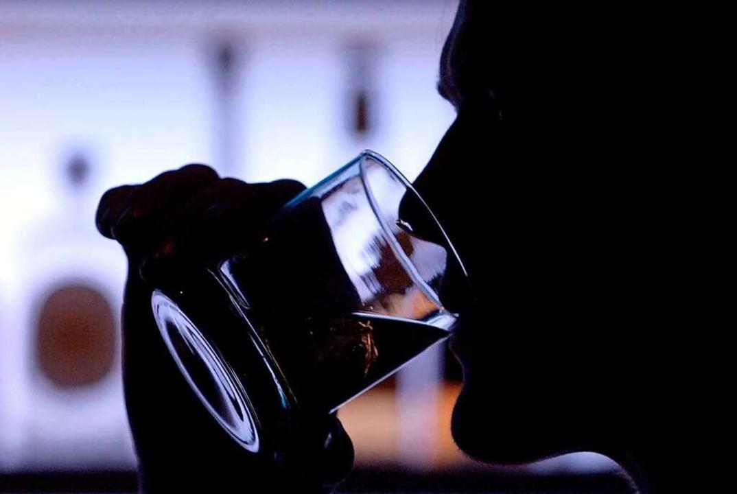 85 Prozent der Klienten der Fachstelle...der Drehscheibe haben Alkoholprobleme.  | Foto: Klaus-Dietmar Gabbert (dpa)