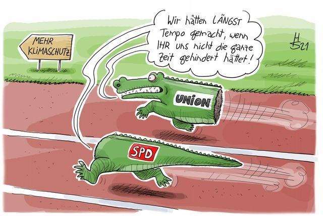 Grokos Rennen gegen sich selbst