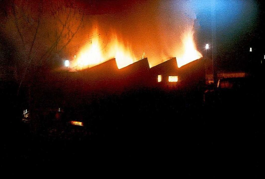 Brandstiftung zerstörte das Haus im Januar 1969  | Foto: Autohaus Gehlert