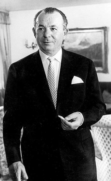 Bernhard Kannenberg gründete das Autoh...olfgang Gehlert und Heinrich Gröschel.  | Foto: Autohaus Gehlert