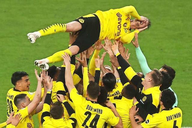 Borussia Dortmund gewinnt den DFB-Pokal gegen RB Leipzig