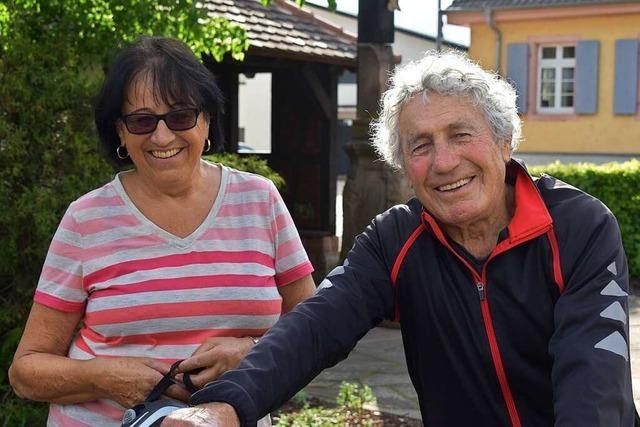 Mit fast 85 Jahren nimmt Oskar Kopf am Alemannen-Marathon in Friesenheim teil