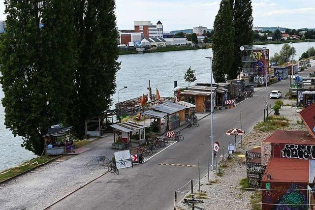 Uferstraße in Basel soll nach Partys und Schlägerei sicherer werden