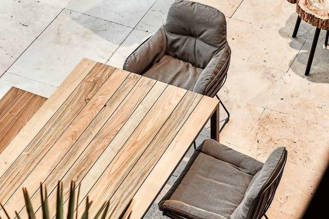 Stilvolle Design-Gartenmöbel für Draußen und Drinnen