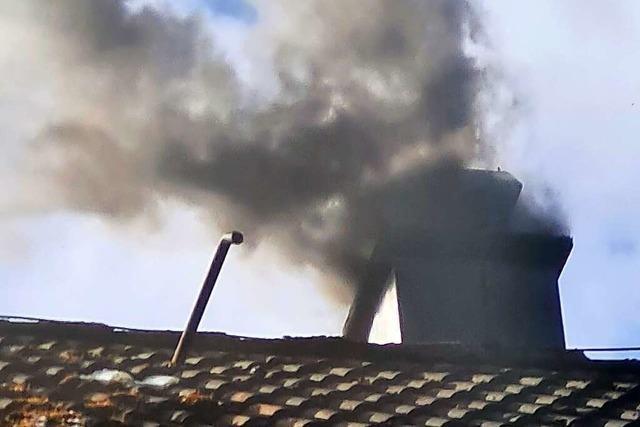 Kaminbrand in Hasel geht glimpflich aus