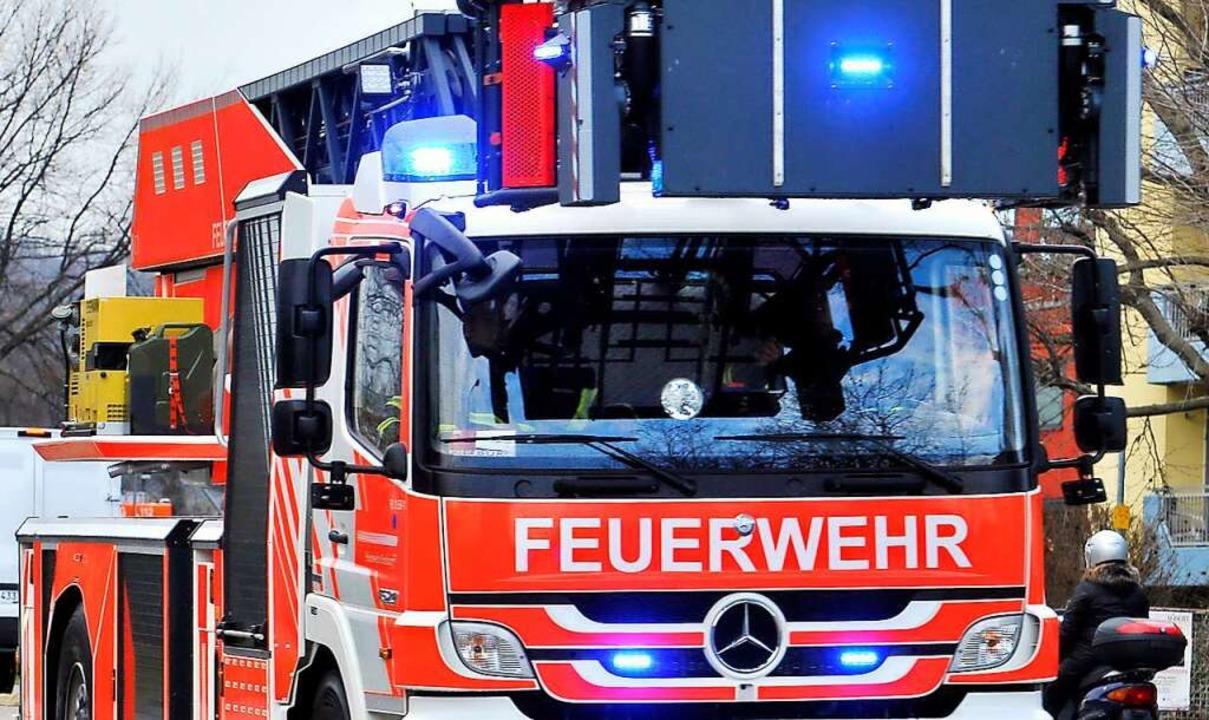 Die Feuerwehr wurde zum Wasserkraftwer...es war nur ein Fehlalarm (Symbolbild).    Foto: Thomas Kunz