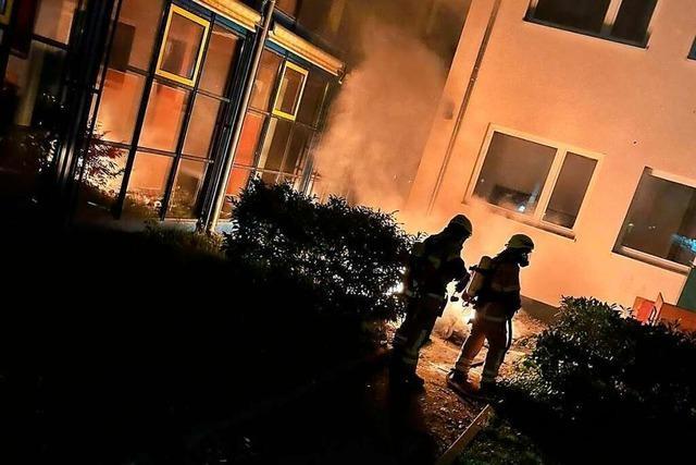 Brand an Heitersheimer Schule verursacht mehrere tausend Euro Schaden