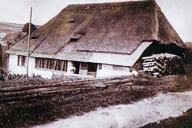 Wie Bauern im Hotzenwald vor 130 Jahren lebten
