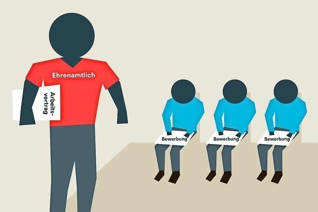 Wie stehen Firmen zum Ehrenamt ihrer Mitarbeiter?