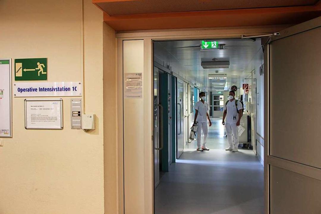 Ein Blick in die Intensivstation im Ortenau-Klinikum Lahr.  | Foto: Klinikum