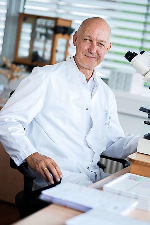 Lothar Tietze, Ärztlicher Direktor im Ortenau-Klinikum Lahr  | Foto: Klinikum