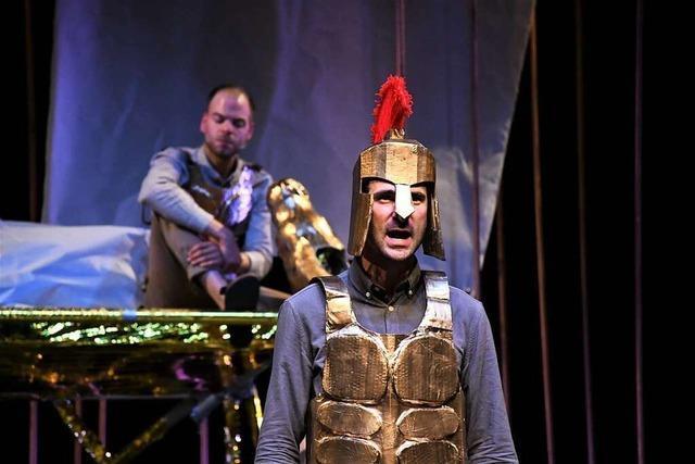 Lörracher Theater Tempus Fugit thematisiert abwesende Väter
