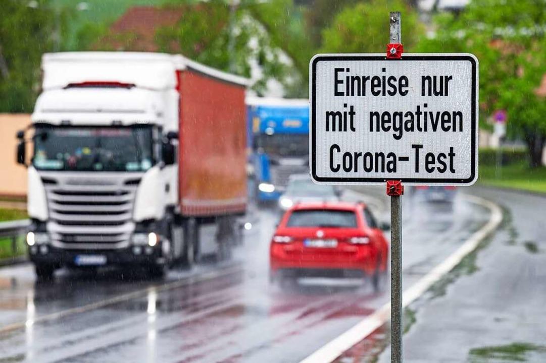 Sehr eindeutig war die Bewertung der Maßnahmen an der Grenze.  | Foto: Armin Weigel (dpa)