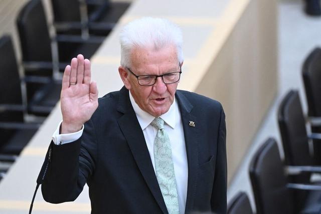 Welche Ziele hat Ministerpräsident Kretschmann für das Land?