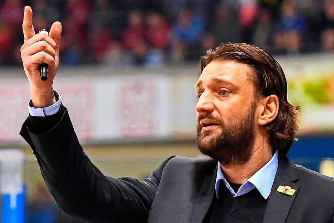 Insgesamt vier Jahre war Robert Hoffma...m Heimatverein zum Chefcoach aufstieg.    Foto: Lutz Hentschel