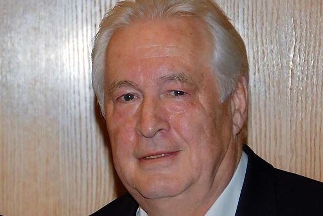 Peter Hunkler nimmt noch immer Anteil an den Entwicklungen in Weil