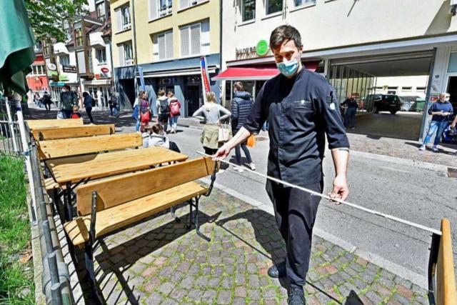 Freiburger Restaurants machen erst nach und nach auf