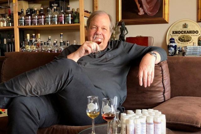 Ein Whisky-Sammler aus Rheinfelden hat sein Hobby zum Beruf gemacht