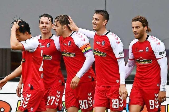 Fotos: Gulde und Günter treffen beim 2:2-Unentschieden gegen die Bayern