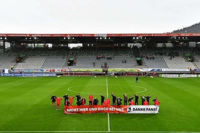 So emotional verabschieden sich die SC-Fans vom Schwarzwaldstadion