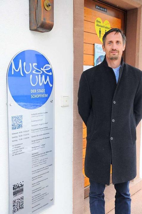 <BZ-Keyword>Dominik Baiker </BZ-Keywor...e für Museum und Kultur in Schopfheim.  | Foto: Nicolai Kapitz