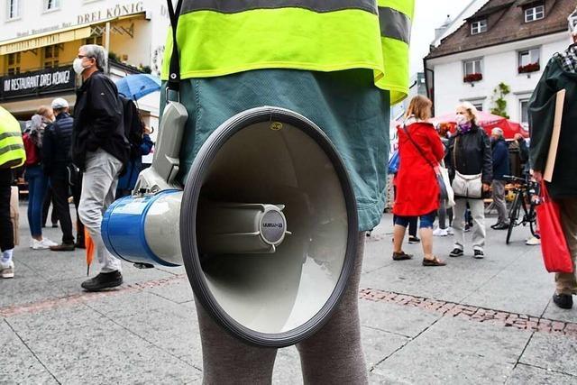 Fridays for Future kritisiert Klimaziele mit Demos im Kreis Lörrach