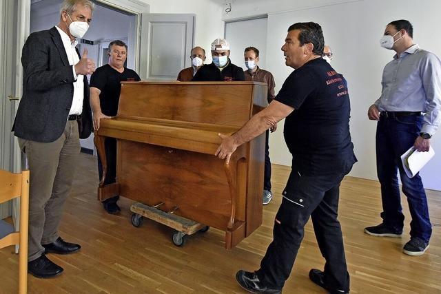 Musikschule zieht auf Zeit ins Rotteckhaus