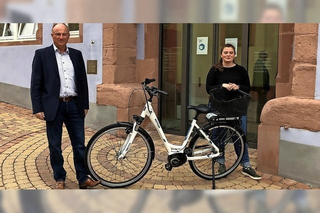 Auf dem E-Bike durch Mahlberg