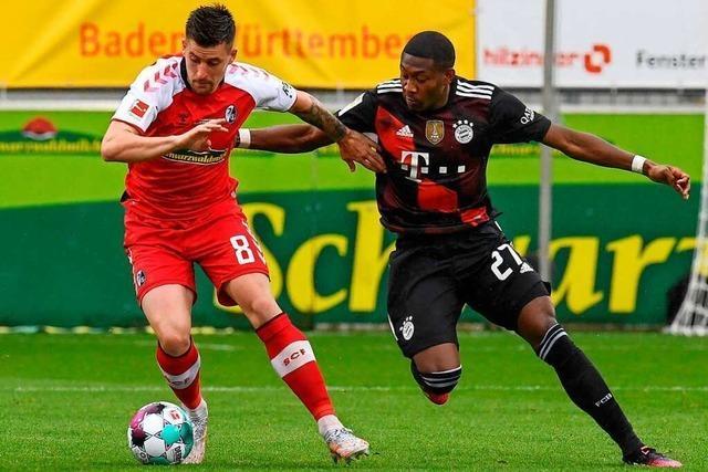 SC Freiburg bleibt auf Augenhöhe mit dem Immer-Favoriten FC Bayern