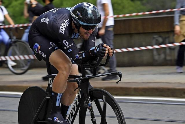 Denz mit seinem bisher schwersten Tag beim Giro d'Italia