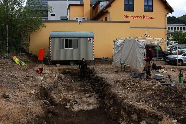 Keine Hinweise auf eine mittelalterliche Bebauung in Schönau