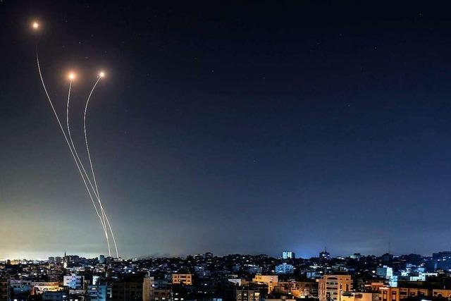 Hamas feuert Raketen - Israels Luftwaffe greift Terrorziele in Gaza an