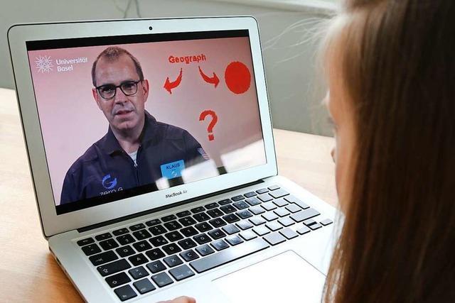 Professoren aus Basel kommen virtuell in die Kinderzimmer