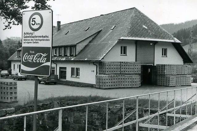Damals kletterten Jugendliche über die Zäune der Coca-Cola-Fabrik