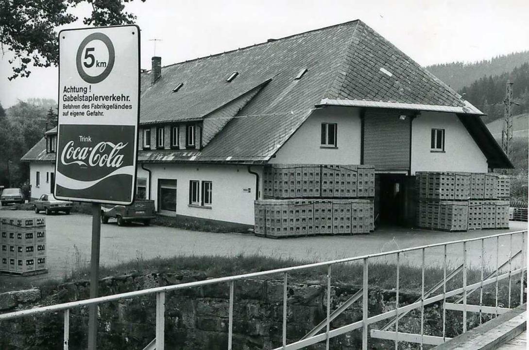 So sah der heutige Bauhof aus, als er 1965 Coca-Cola-Fabrik war.  | Foto: Privat