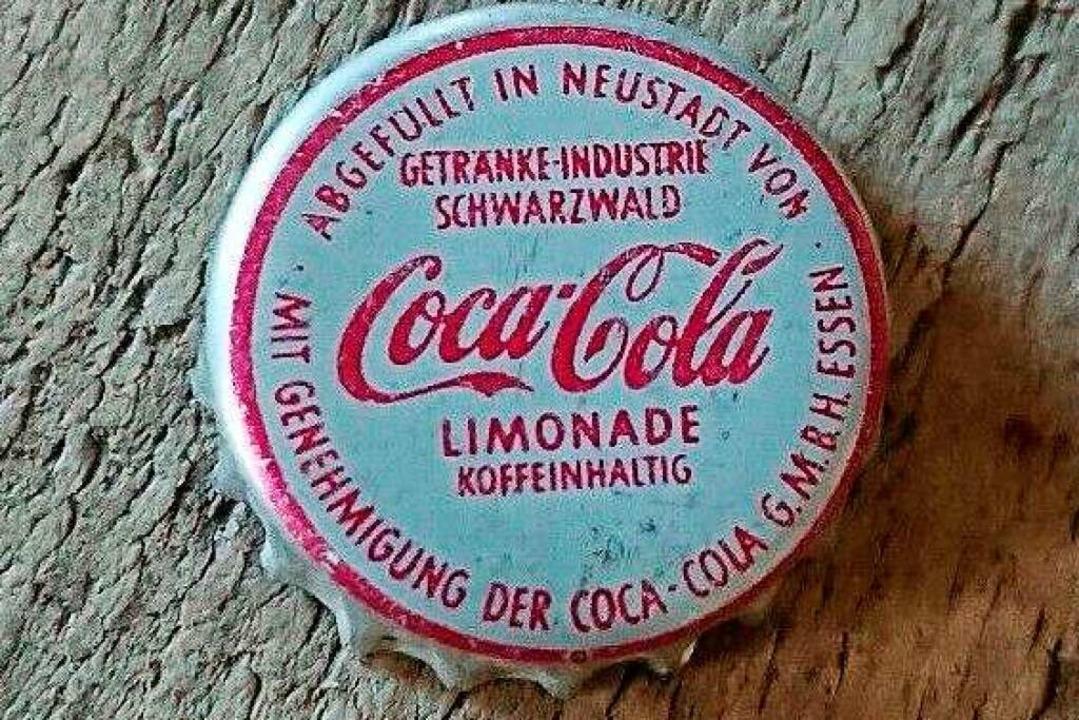 Eine begehrte Rarität unter Sammlern: ...n der Coca Cola Abfüllung in Neustadt.  | Foto: Privat