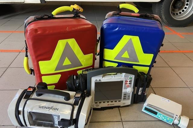 Medizinische Geräte im Wert von 100.000 Euro aus Rettungswache gestohlen