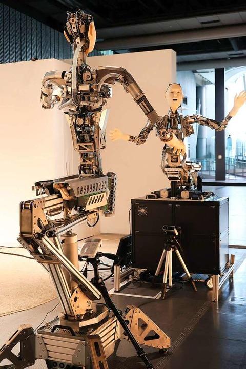 Technik  oder wie sie den Menschen ersetzt: japanische Androiden  | Foto: Yoshio Tsunoda via www.imago-images.de