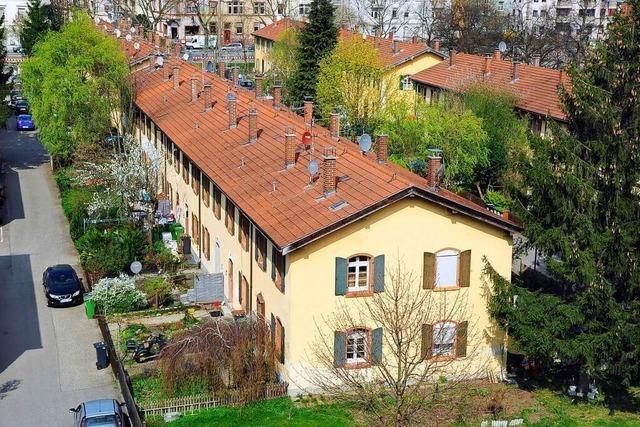 Die Freiburger Knopfhäusle-Siedlung wird behutsam saniert