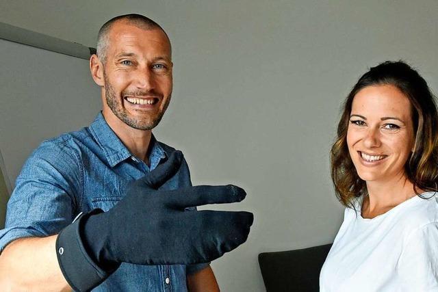 Freiburger Firma erfindet nachhaltigen Hygienehandschuh