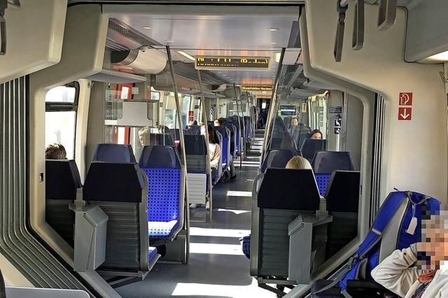 Viel Platz in Bus und Bahn