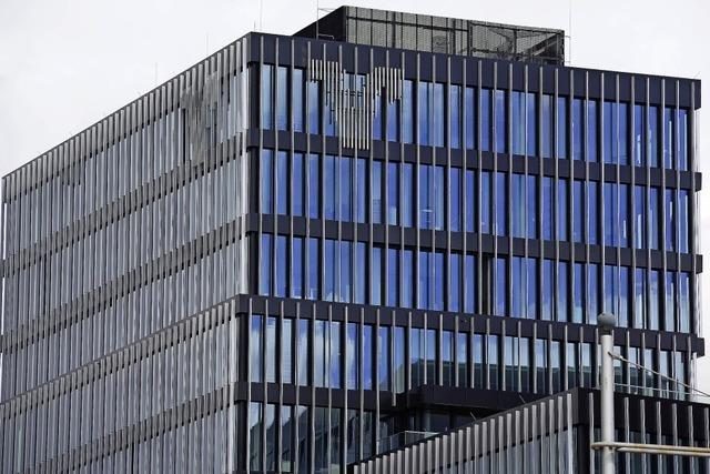 Volksbank-Neubau füllt sich