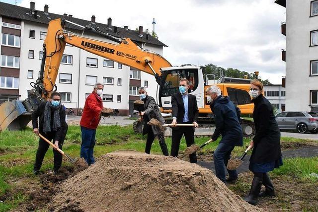 Spatenstich für 23-Millionen-Projekt der Wohnbau Lörrach