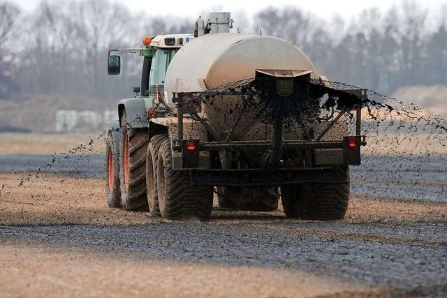 Nitrat im Grundwasser: Was kann die neue Düngeverordnung?
