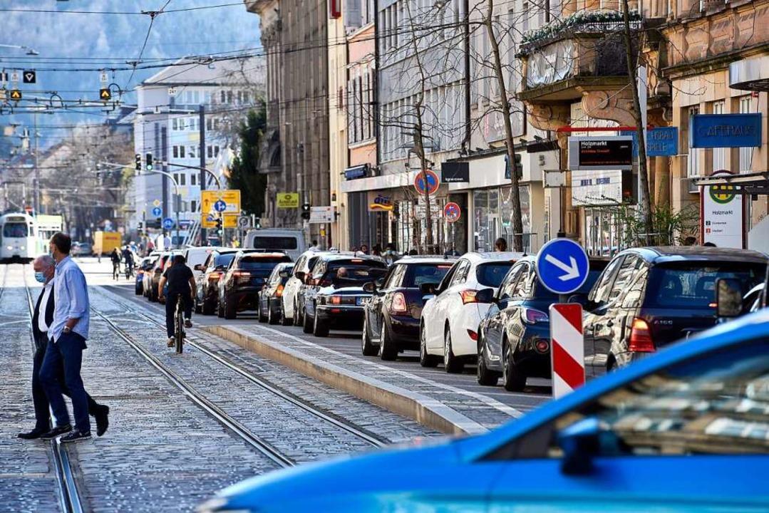 Weiter im Fokus: der motorisierte Individualverkehr  | Foto: Thomas Kunz