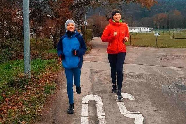 Läuferinnen und Läufer haben Geld für Bad Säckinger Verein gesammelt