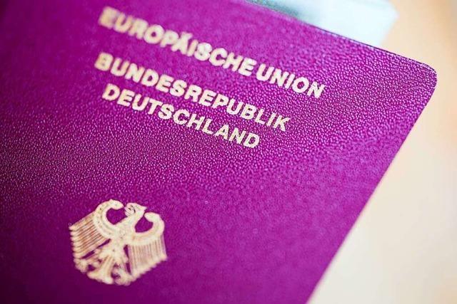 Weniger Menschen bekommen im Südwesten einen deutschen Pass
