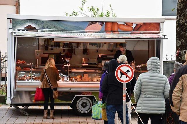 Fünf Betriebe bewerben sich für Metzgerstand auf Schopfheimer Wochenmarkt
